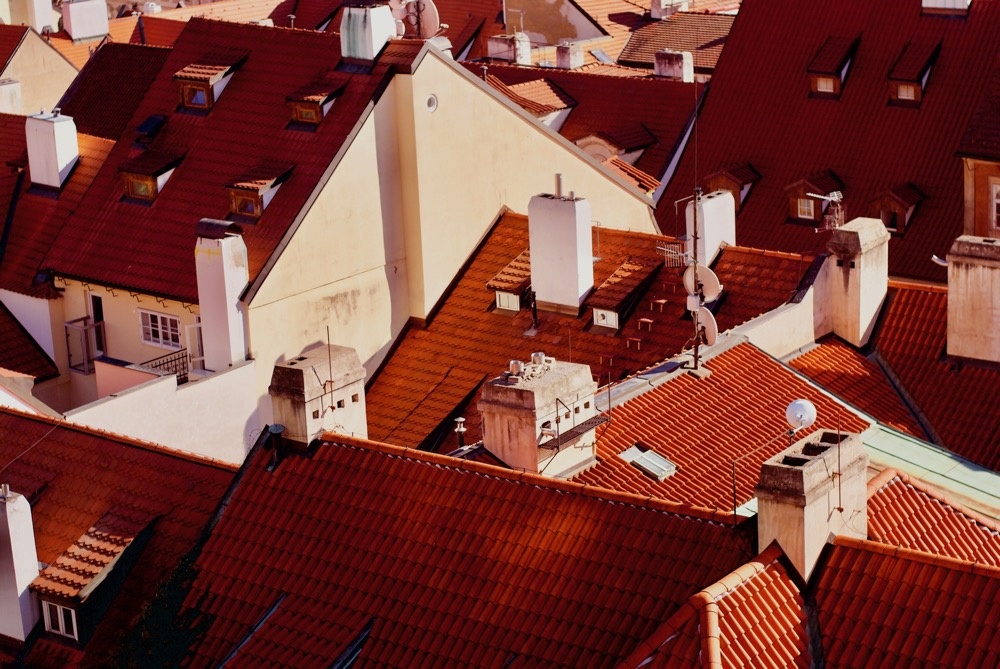 Czech Republic - red roofs